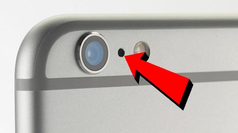 Así que para eso está destinado ese pequeño punto negro en tu celular
