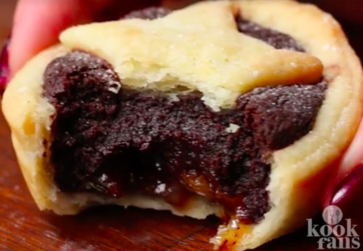 pasteles de de brownie son deliciosos