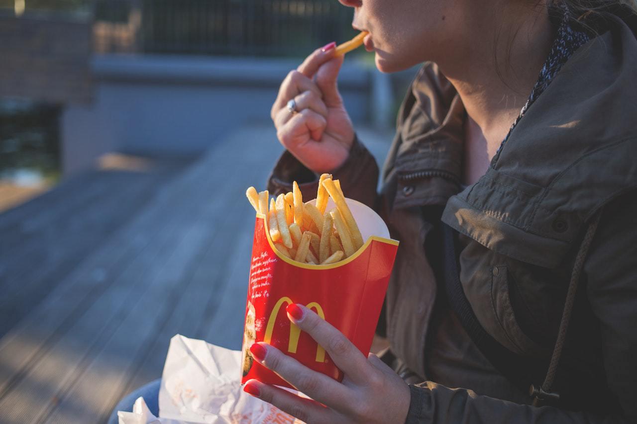 Las papas fritas de McDonald's