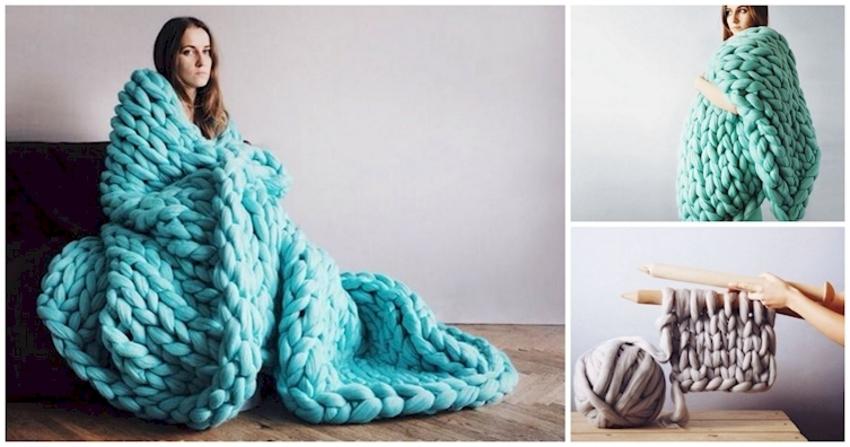 Prepárate para el invierno haciendo bricolaje con estas maravillosas mantas