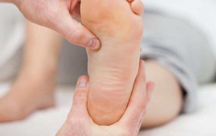 Espolones en la planta del pie